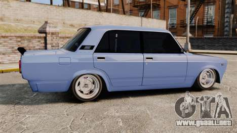 LADA 2107 Time Attack Racer para GTA 4 left