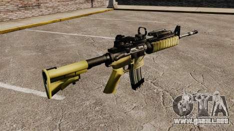Automática M4 rojo Dop v2 para GTA 4 segundos de pantalla