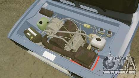 LADA 2107 Time Attack Racer para GTA 4 vista interior