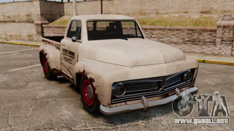 Camioneta oxidada para GTA 4
