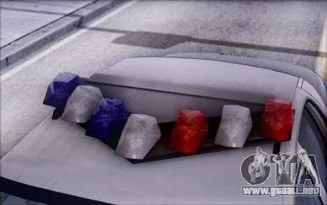 Ford Crown Victoria STR para visión interna GTA San Andreas