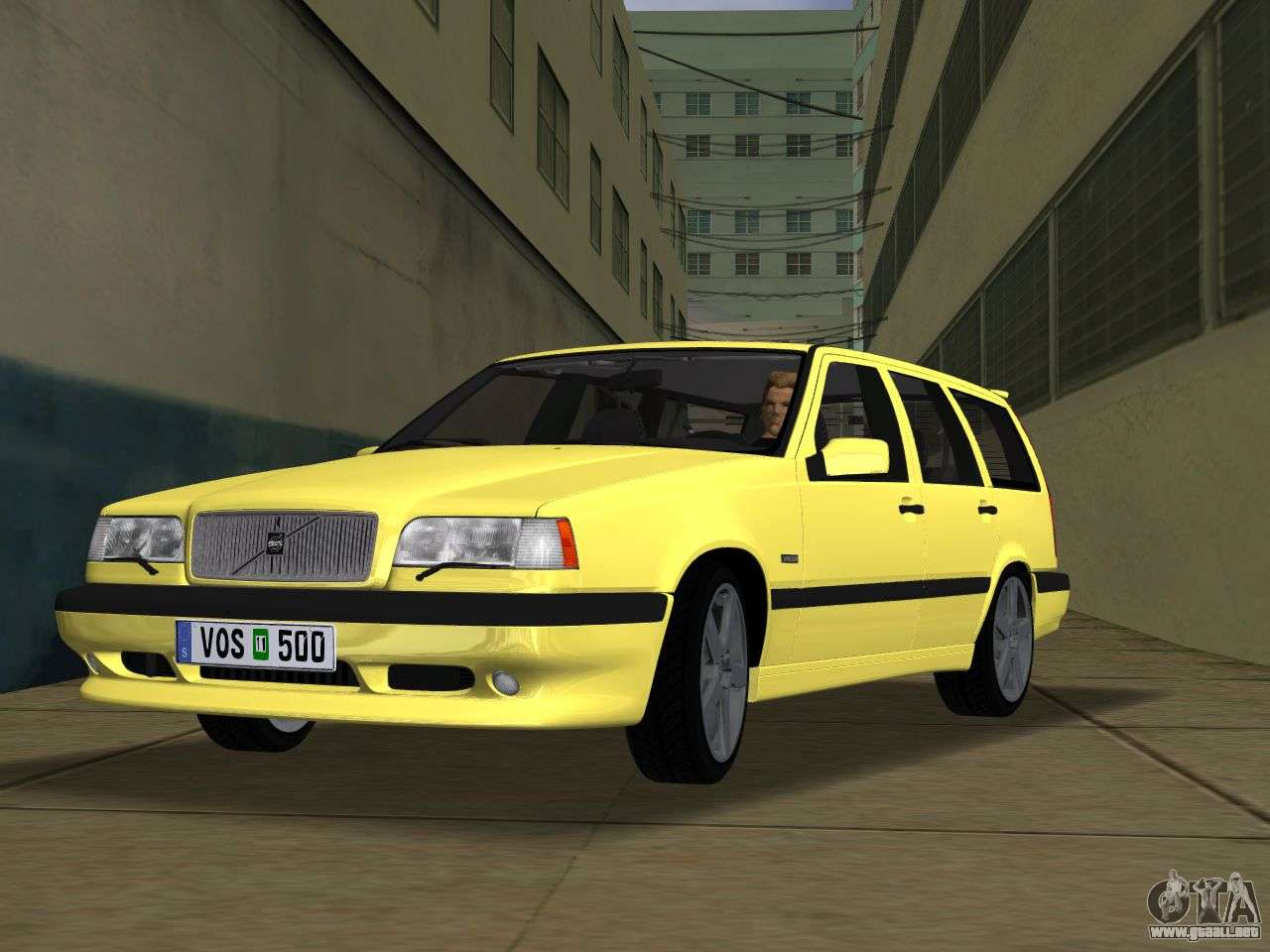 volvo 850 r estate para gta vice city. Black Bedroom Furniture Sets. Home Design Ideas