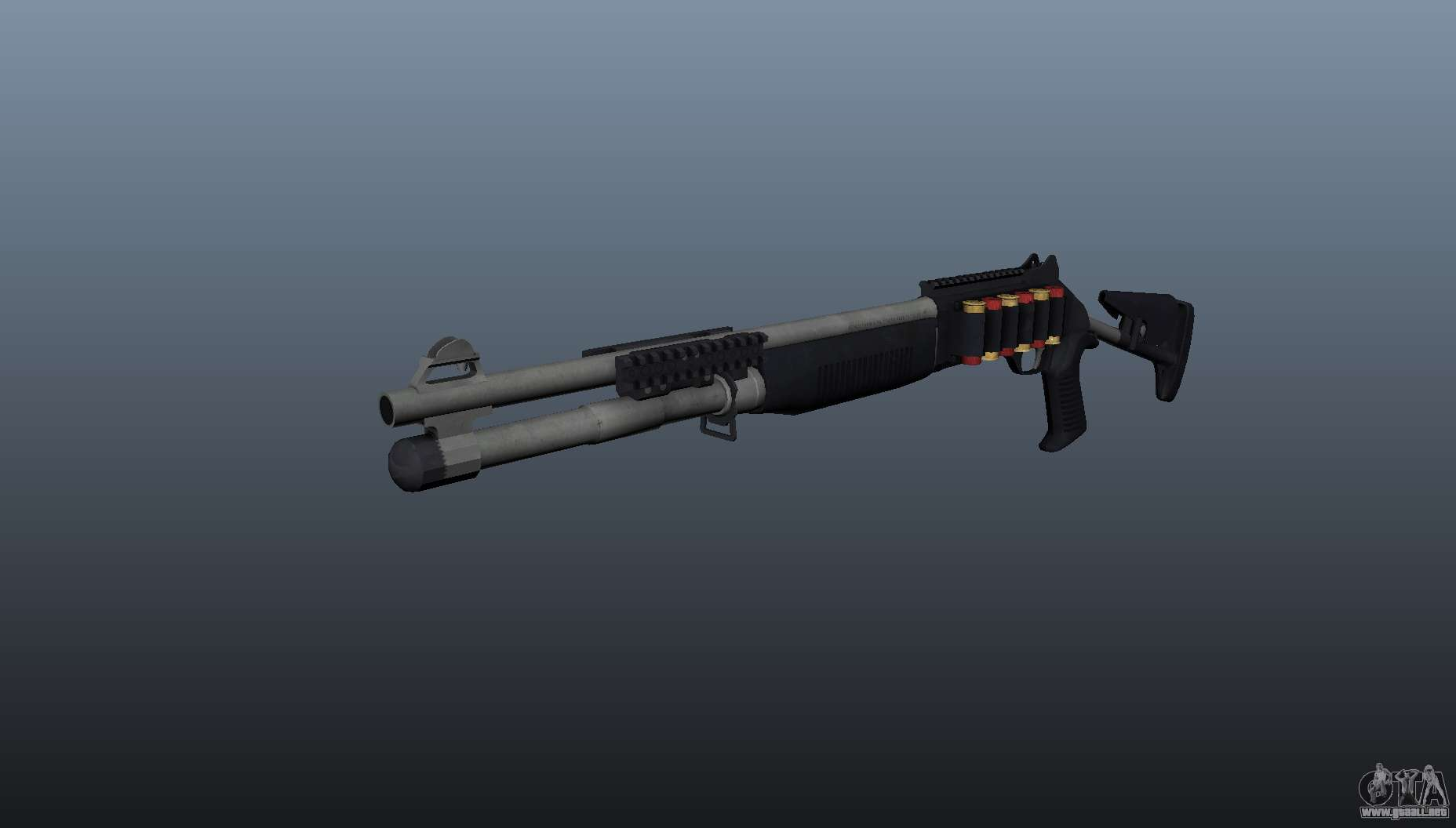 M1014 Shotgun para GTA 4  M1014 Combat Shotgun