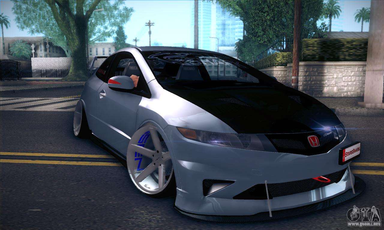 honda civic type r mugen para gta san andreas. Black Bedroom Furniture Sets. Home Design Ideas