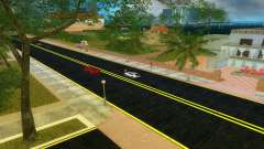 Nuevas carreteras Starfish Island para GTA Vice City