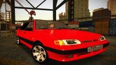 VAZ 2115 luz Tuning para GTA San Andreas