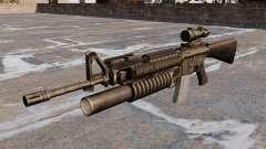El fusil de asalto M16A4