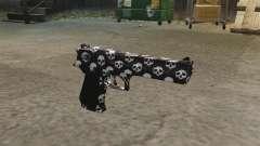 Pistola Desert Eagle cráneo para GTA 4