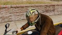 Una colección de cascos Arai v2 para GTA 4