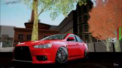 Mitsubishi Lancer Evolution X Stance Work