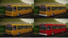 LIAZ 5256.00 Skin-Pack 5 para GTA San Andreas