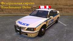 Sirena federal Touchmaster Delta