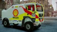 MAN TGA Dakar Truck Shell
