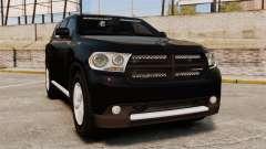 Dodge Durango 2013 Sheriff [ELS] para GTA 4