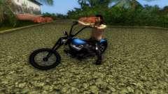 Harley Davidson Shovelhead para GTA Vice City
