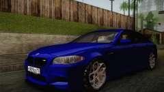BMW M5 F10 v2 para GTA San Andreas