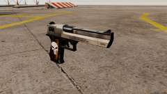 Pistola semi-automática Desert Eagle Punisher para GTA 4