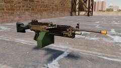 La ametralladora de la ligera M249 Airsoft