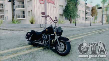 Harley Davidson Road King para GTA San Andreas