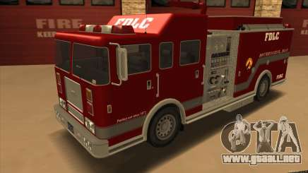 Firetruck HD from GTA 3 para GTA San Andreas