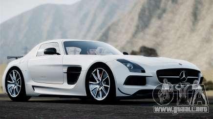 Mercedes-Benz SLS AMG Black Series 2014 para GTA 4
