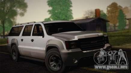 Granger Civil de GTA 5 para GTA San Andreas