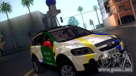 Chevrolet Google Street View Chile para GTA San Andreas
