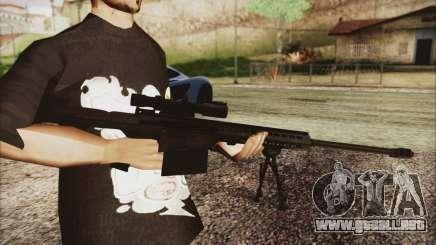 Barrett M82 para GTA San Andreas