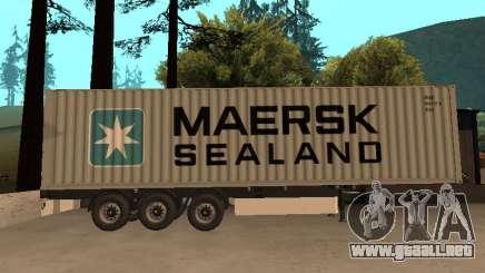 Remolque MAERSK para GTA San Andreas