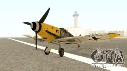 Bf-109 G6 v1.0 para GTA San Andreas