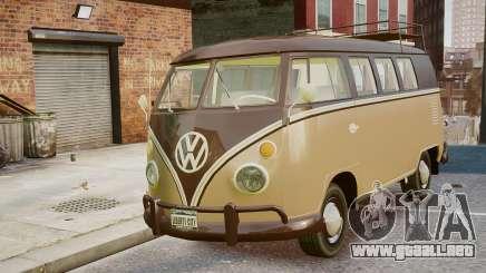 Volkswagen Transporter 1962 para GTA 4