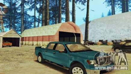 Ford F150 XLT Supercrew Trim para GTA San Andreas