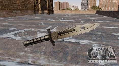 Bayoneta M9 para GTA 4