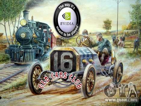 New loadscreen Old Cars para GTA San Andreas