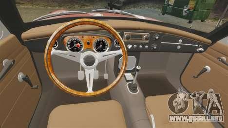 MG MGB GT 1965 para GTA 4 vista hacia atrás