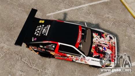 Toyota Corolla GT-S AE86 [EPM] Reimu Hakurei para GTA 4 visión correcta