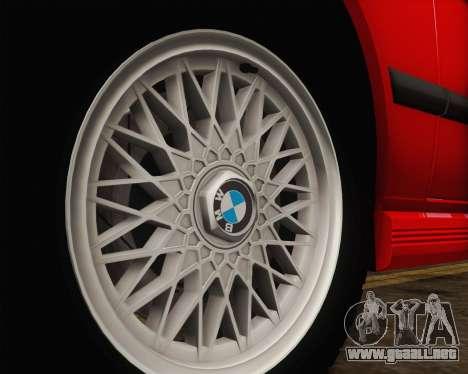BMW M5 E28 para la vista superior GTA San Andreas