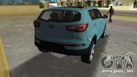 Kia Sportage para GTA Vice City vista lateral izquierdo