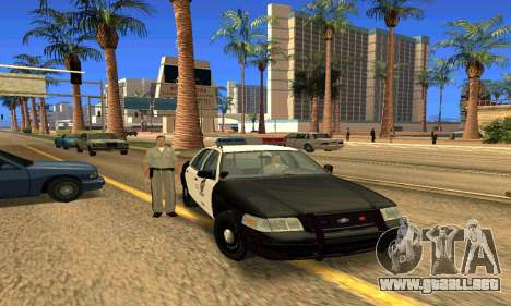 Ford Crown Victoria Police LV para GTA San Andreas