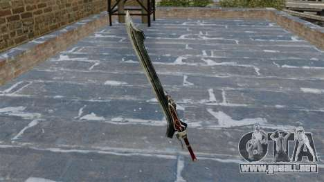Espada rojo reina... para GTA 4