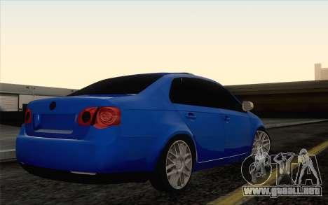 Volkswagen Jetta para GTA San Andreas left