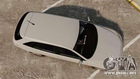Toyota Altezza Gita para GTA 4 visión correcta