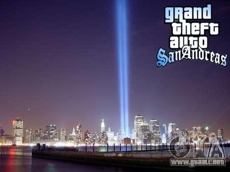 Loadscreens New-York para GTA San Andreas sexta pantalla