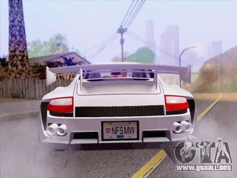 Porsche Carrera S para vista lateral GTA San Andreas