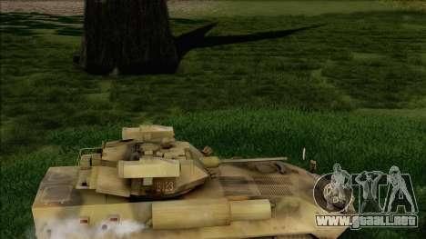 Camuflaje bosque LAV-25 para la visión correcta GTA San Andreas