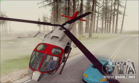 GTA V Ambulacia Maverick para GTA San Andreas left