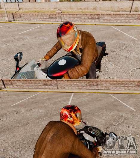 Cascos de motociclista para GTA 4 segundos de pantalla