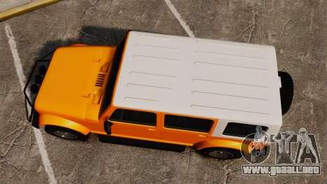 GTA V Canis Mesa Grande para GTA 4 visión correcta