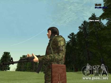 Tankman para GTA San Andreas octavo de pantalla