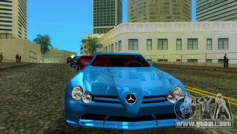 Mercedes-Benz SLR McLaren para GTA Vice City vista lateral izquierdo